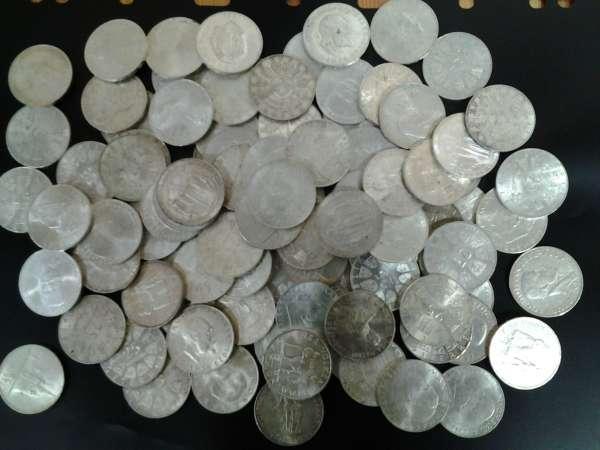 100 Stück 25 Schilling Silber 1040gr.Feinsilber858