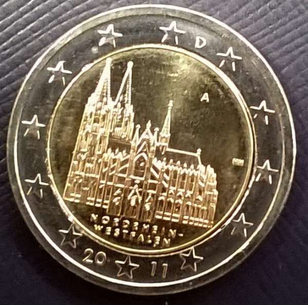 2 Euro Deutschland Kölner Dom 2011