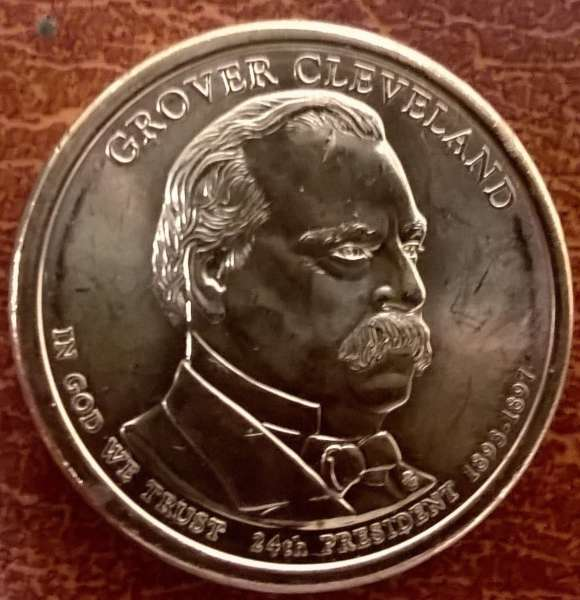 USA 1 Dollar 2012 P Grover Cleveland 2.(24)
