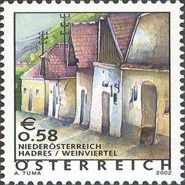 ANK 2398 Ferienland Österreich: Hadres / Niederösterreich 0,58 €