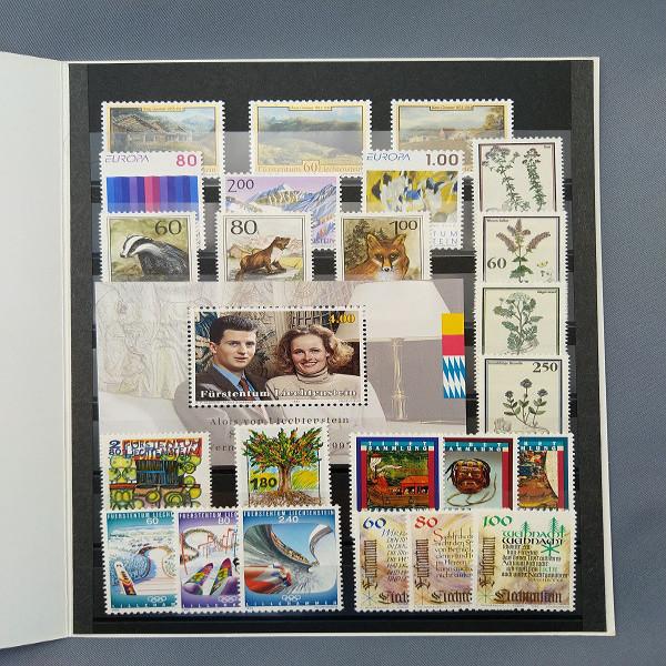 Liechtenstein 1993 Jahresmappe postfrisch