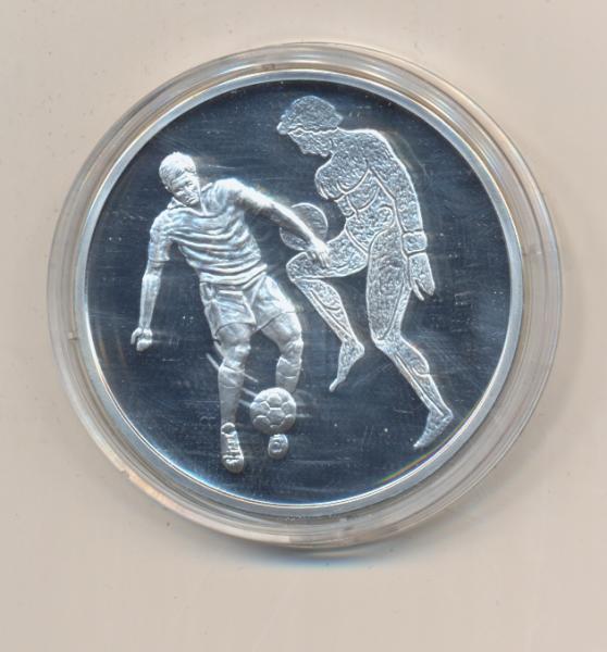 "10 Euro 2004 Griechenland ""Olympische Spiele Athen"" - Fussball PP Silber Ag"