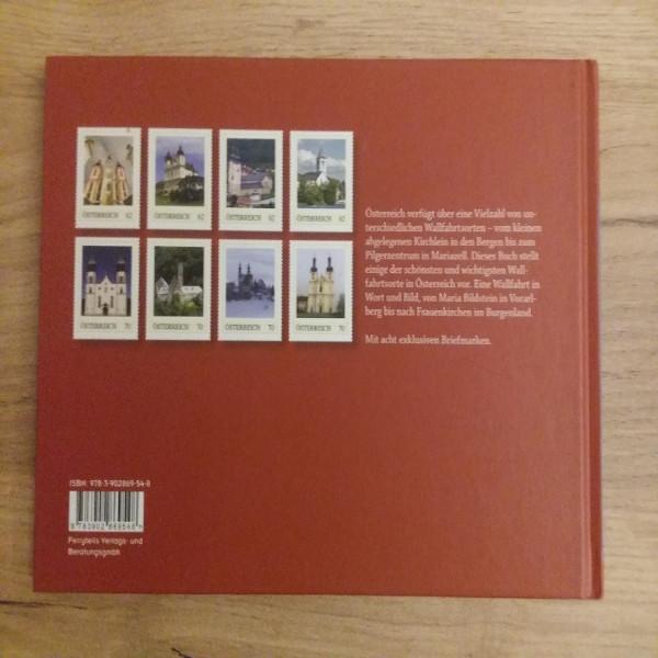 Briefmarkenbuch Wallfahrtsorte in Österreich mit 8 exklusiven Marken