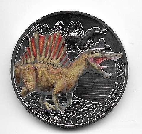 3 Euro Dino-Taler 2019 Spinosaurus Österreich
