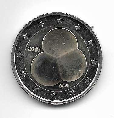 2 Euro Finnland 2019 100 Jahre Finnische Verfassung