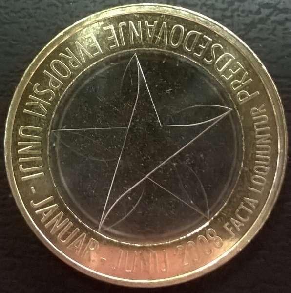 3 Euro Slowenien 2008 EU-Präsidentschaft