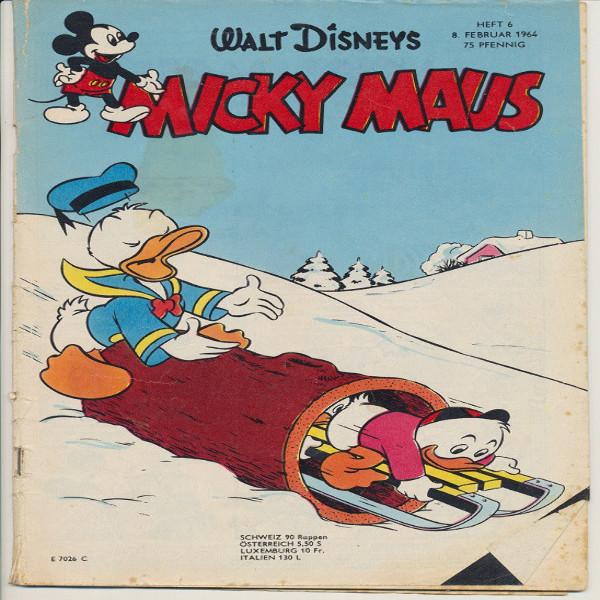 Micky Maus Nr. 6 /1964