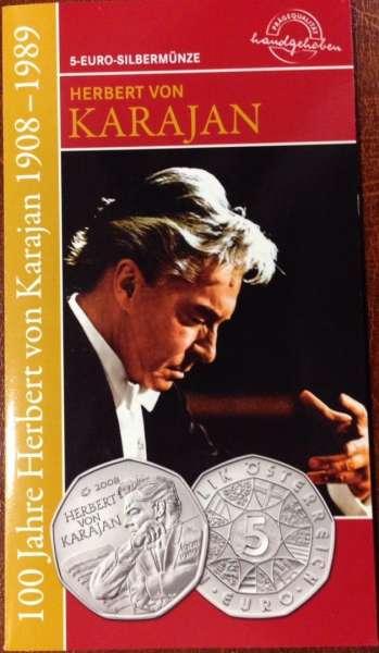 2008 Karajan Blister ANK Nr.13b