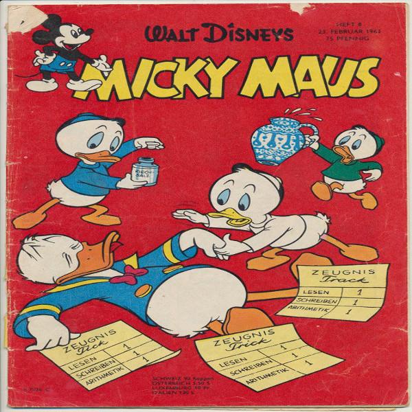 Micky Maus Nr.8 /1963