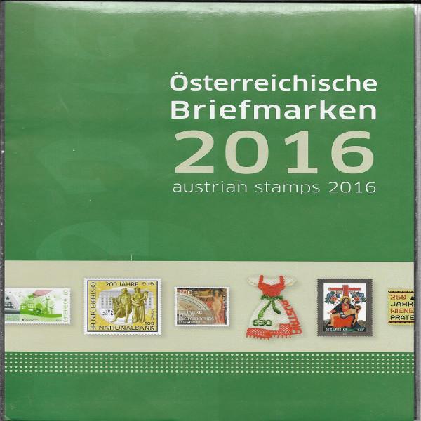Marken Jahreszusammenstellung der Post 2016