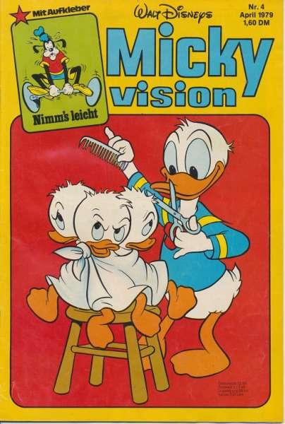 Mickyvision Heft Nr. 4/1979