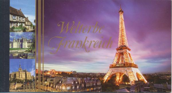 UNO Wien Markenheft Nr. 11 - Welterbe Frankreich 2006 Gestempelt