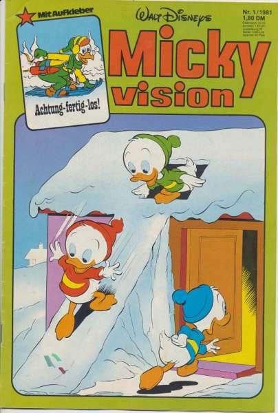Mickyvision Heft Nr. 1/1981