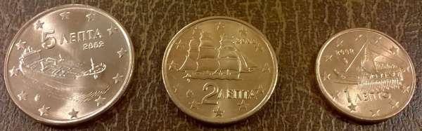 1,2+5 Cent Griechenland