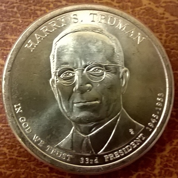 USA 1 Dollar 2015 P Harry s Truman (33)