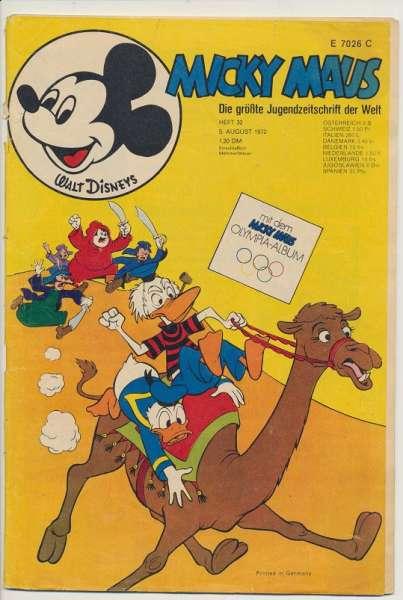 Micky Maus Nr. 32/1972