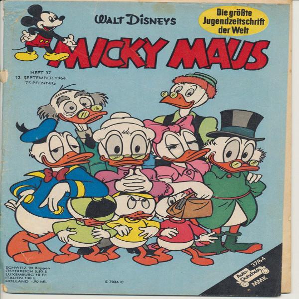 Micky Maus Nr. 37 /1964