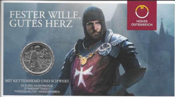 10 Euro 2020 Standhaftigkeit Silber HgH Ank. Nr.38