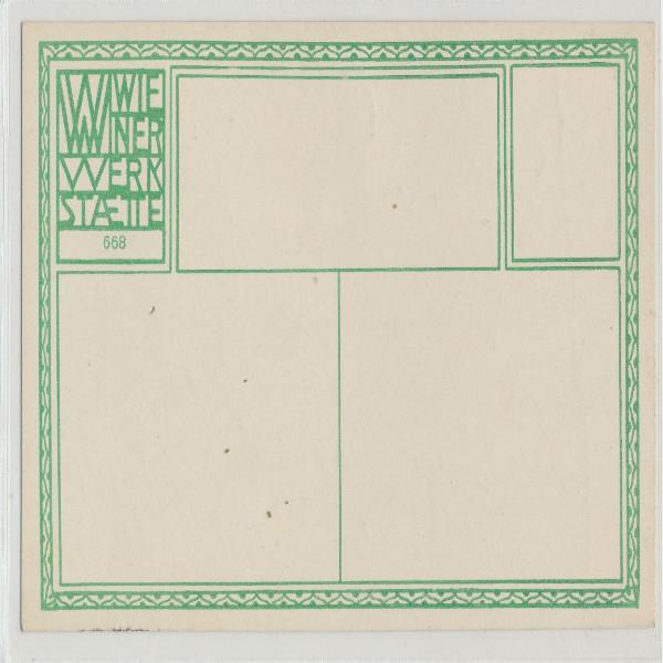 Wiener Werkstätte Nr. 668 Greifenstein an der Donau