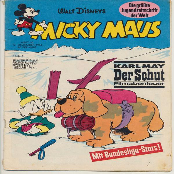 Micky Maus Nr. 50 /1964