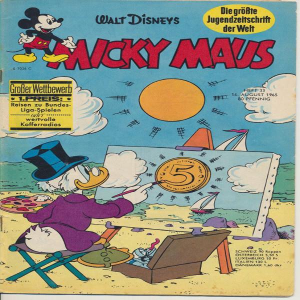 Micky Maus Nr. 33 /1965