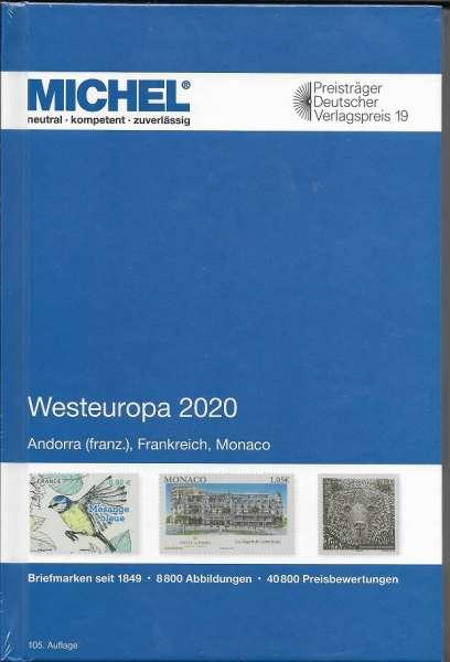 MICHEL Europa Westeuropa-Katalog 2020 (E 3)
