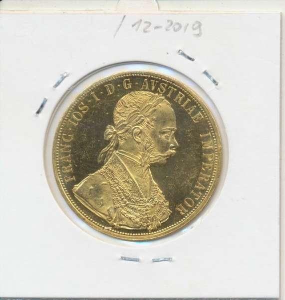4 Dukaten 1914 Original Franz Joseph I
