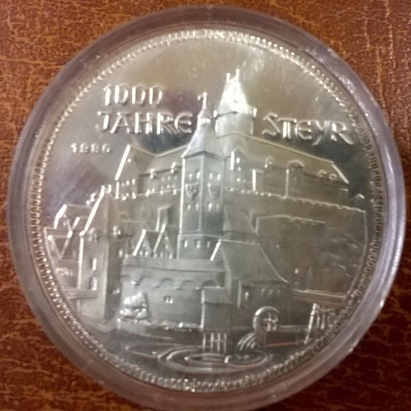 Wir kaufen 500 Schilling Silber
