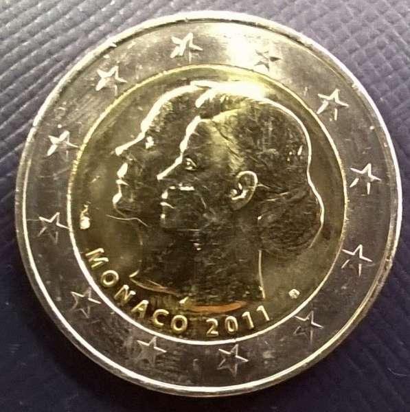 2 Euro Monaco 2011 Vermählung