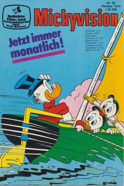 Mickyvision Heft Nr. 50/1974