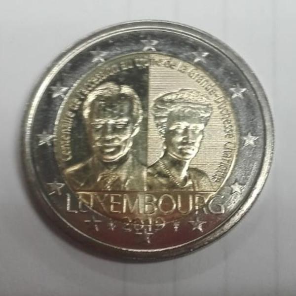 2 Euro Luxemburg 2019 100 Jahre Thronbesteigung