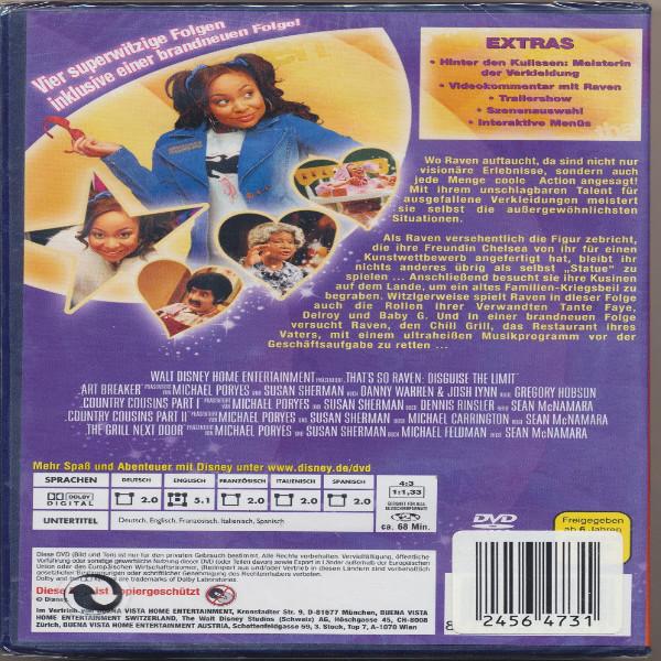 Raven blickt durch - Meister der Verkleidung(2005) Walt Disney