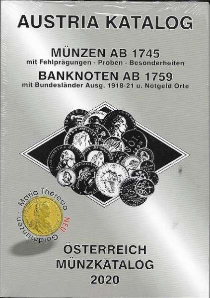 ANK Münzkatalog 2020 Austria Katalog