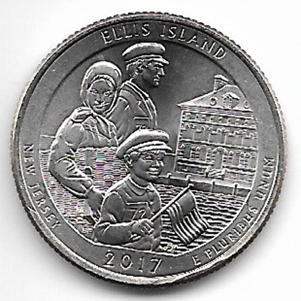USA 25 Cent 2017 D Ellis Island (39)
