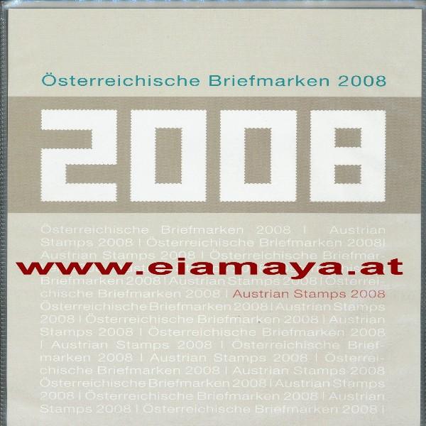 Marken Jahreszusammenstellung der Post 2008