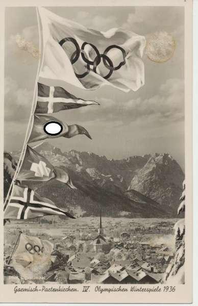 Garmisch Partenkirchen IV Olympischen Winterspiele 1936 Deutsches Reich