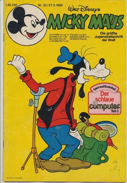 Micky Maus Nr. 22/1980