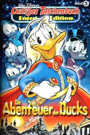 """Band 03 LTB Enten Edition """"Die Abenteuer der Ducks"""""""