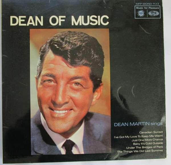 Dean Martin - Dean Of Music LP 1966 MFP 1133