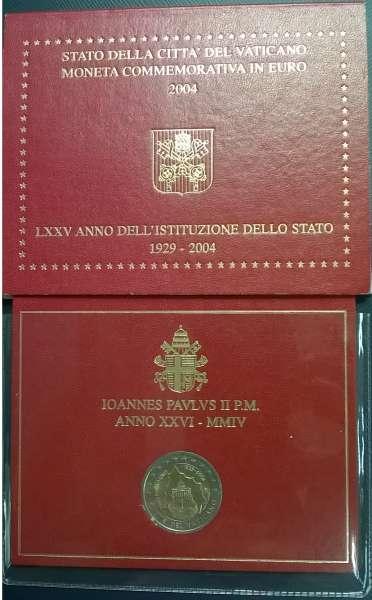 2 Euro Vatikan 2004 75 Jahre Vatikan