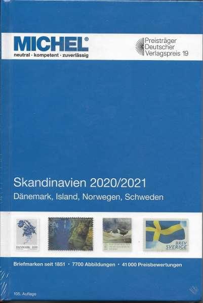 MICHEL Europa SKANDINAVIEN-KATALOG 2020/2021 (E 10)