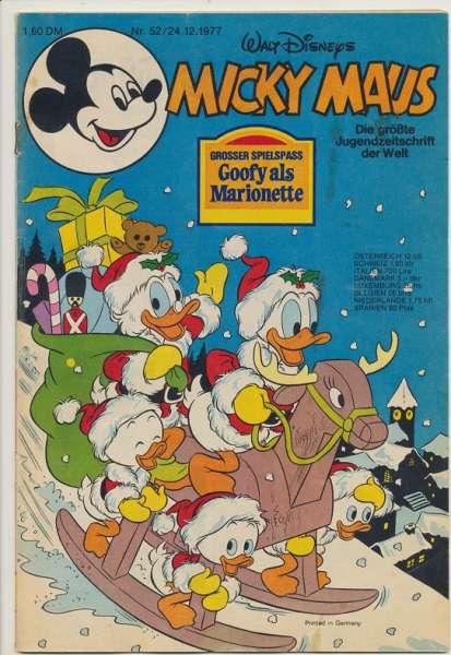 Micky Maus Nr. 52/1977