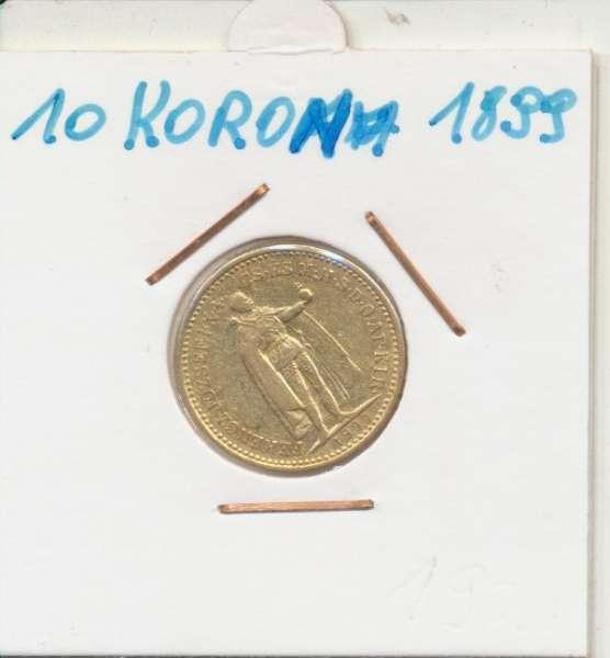 10 Korona 1898 KB Franz Joseph I Gold