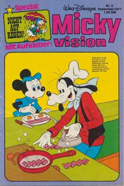 Mickyvision Heft Nr. 9/1977