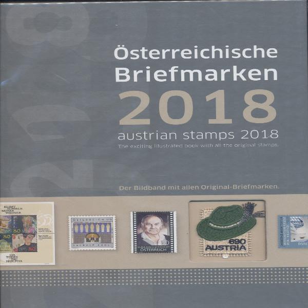 Marken Jahrbuch der Post 2018 Österreich