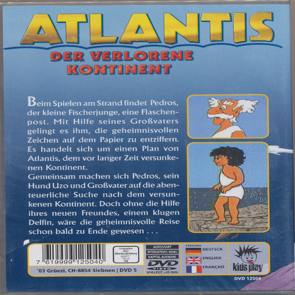 Atlantis Der verlorene Kontinent DVD