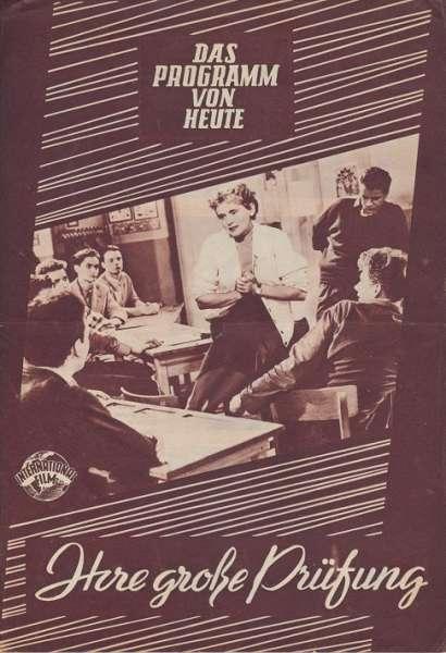 Ihre große Prüfung Nr.334-1955 Das Programm von Heute