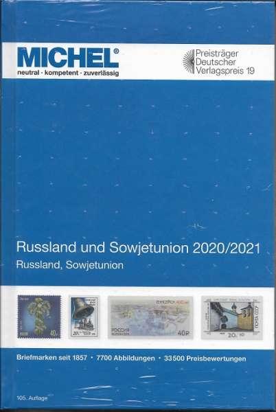 MICHEL RUSSLAND UND SOWJETUNION-KATALOG 2020/2021 (E 16)