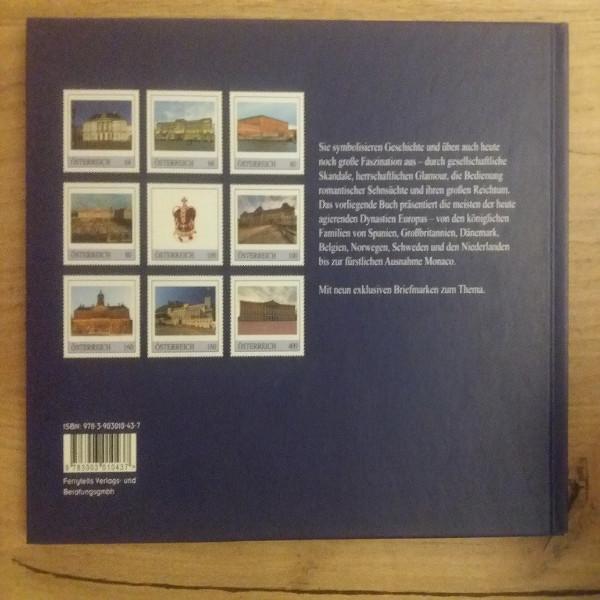Briefmarkenbuch Europa Royal mit 9 exklusive Marken