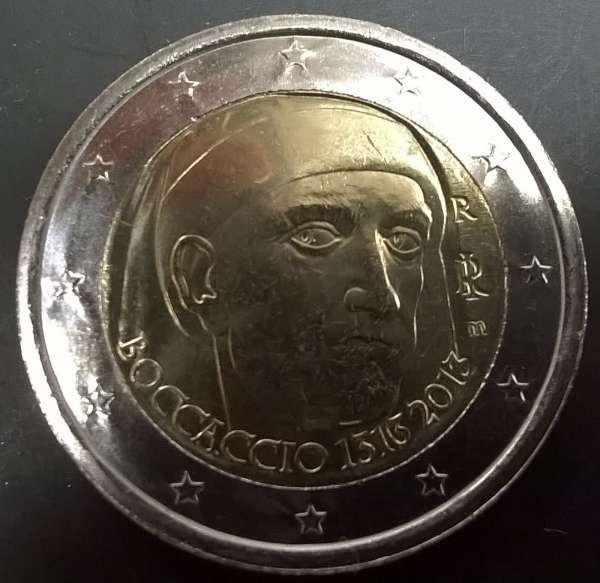 2 Euro Italien 2013 Boccaccio